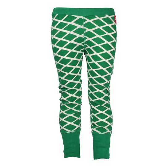 Kik Kid Leggings White Green Green