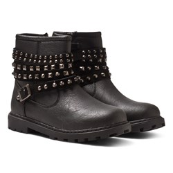 Mayoral Studded Ankle Boots Black