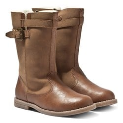 Mayoral Mid Boots Tan
