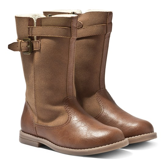 Mayoral Mid Boots Tan BROWN