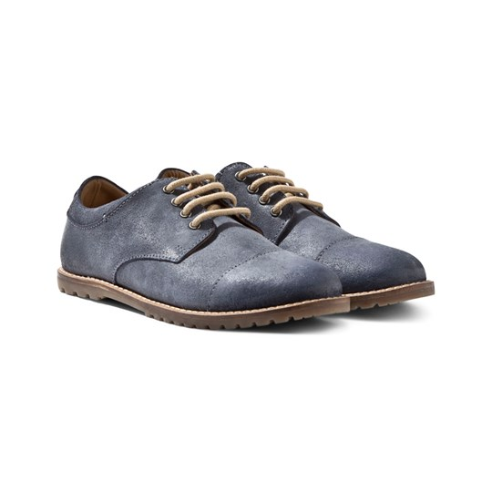 Mayoral Leather Shoes Blue Blue