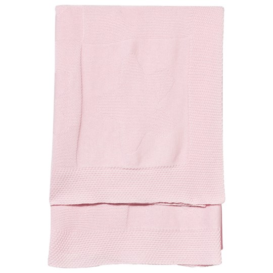 Mayoral Knitted Baby Blanket Pink Star Pink