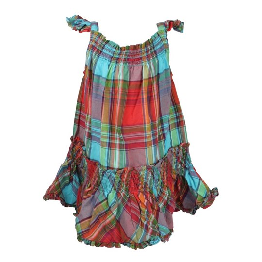Ralph Lauren Little Dress Turquoise Multi