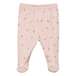 Livly Footed Leggings Mauve Flowers