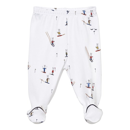 Livly Footed Leggings Skii Bunny boy skii bunny