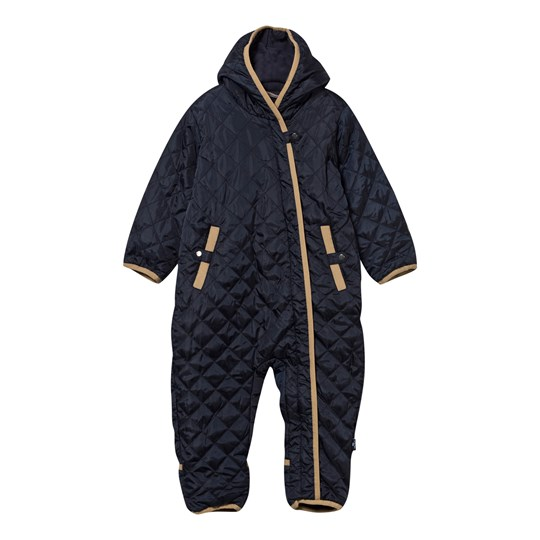 Hust&Claire Padded Coverall Navy Marinblå