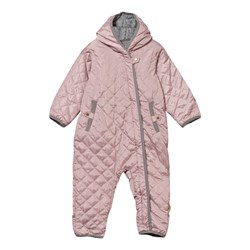 Hust&Claire Padded Coverall Pink