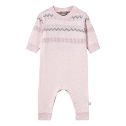 Hust&Claire Knitted One-Piece Pink