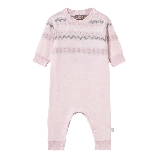 Hust&Claire Knitted One-Piece Pink Rosé melange