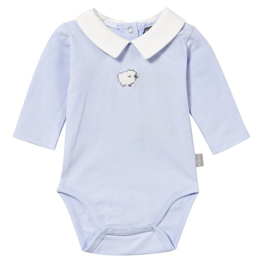 Hust&Claire Baby Body With Collar Blue Light Blue