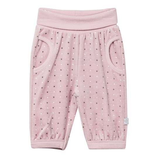 Hust&Claire Velour Trousers Pink Powder rose