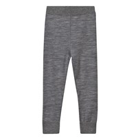 Hust&Claire Merino Leggings Grey WOOL GREY