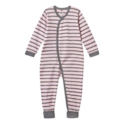 Hust&Claire Baby One-Piece Striped Pink