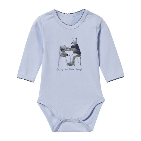 Hust&Claire Blue Baby Body 3-Pack Light Blue