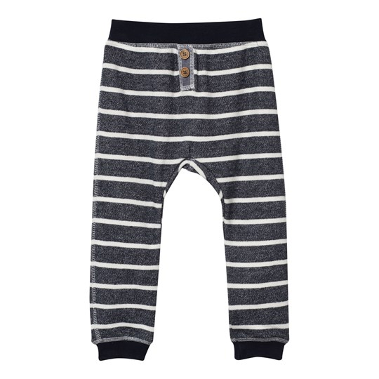 Hust&Claire Striped Trousers Navy