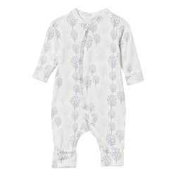 Hust&Claire One-Piece Suit Bamboo White/Blue