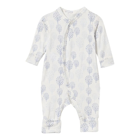 Hust&Claire One-Piece Suit Bamboo White/Blue Blue Bell