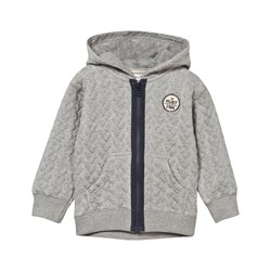 Hust&Claire Grey Cardigan With Hood
