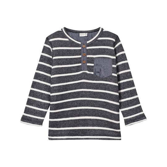 Hust&Claire Striped Sweatshirt Navy