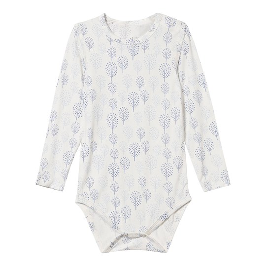 Hust&Claire Baby Body Bamboo Blue/White Blue Bell