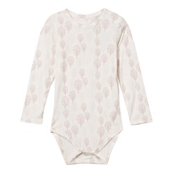 Hust&Claire Baby Body Bamboo White/Pink