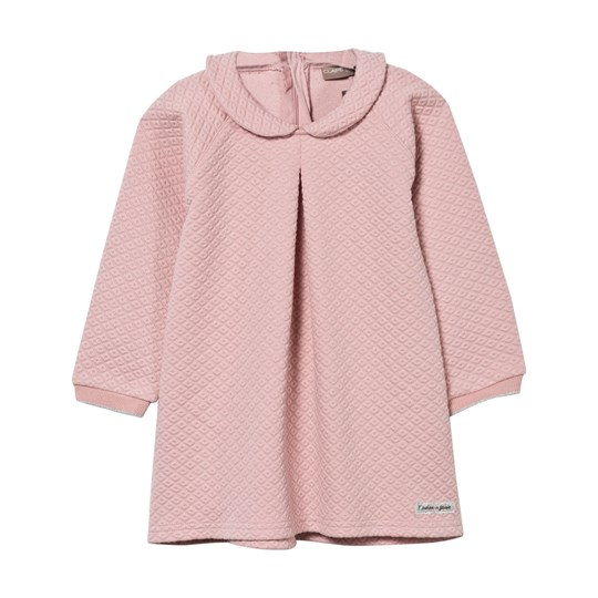 Hust&Claire Collar Dress Pink Dusty Rose