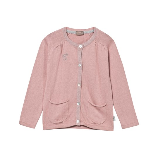 Hust&Claire Pink Cardigan Dusty Rose