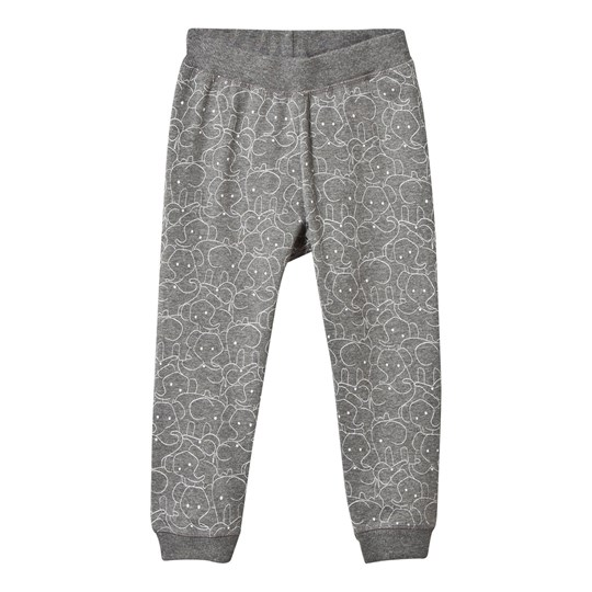 Hust&Claire Jersey Trousers WOOL GREY