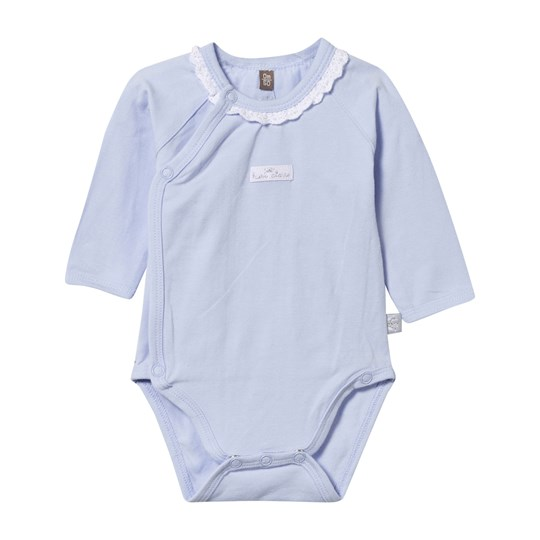 Hust&Claire Baby Body With Frill Blue Light Blue