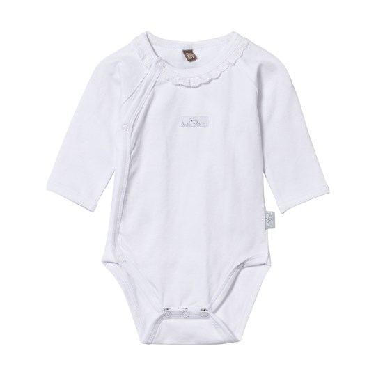 Hust&Claire Baby Body With Frill White White