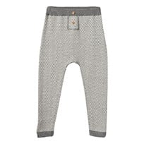 Hust&Claire Knitted Trousers WOOL GREY