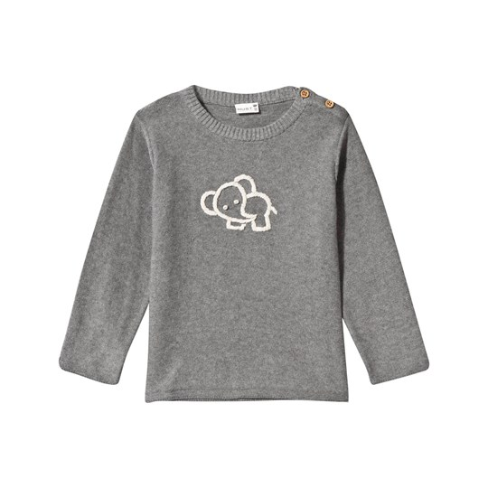 Hust&Claire Sweatshirt Grey WOOL GREY