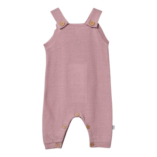 Hust&Claire Knitted Romper Suit Pink Dusty Rose