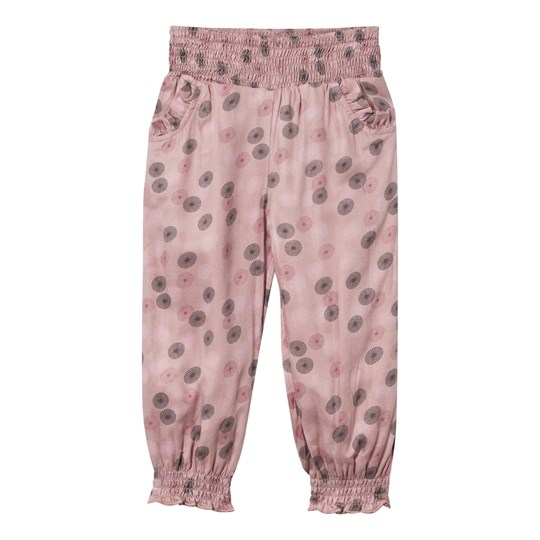 Hust&Claire Patterned Trousers Dusty Rose
