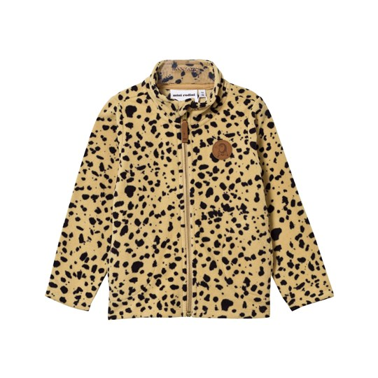 Mini Rodini Fleece Spot Jacket Beige Beige