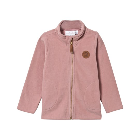 Mini Rodini Fleece Jacket Pink Pink
