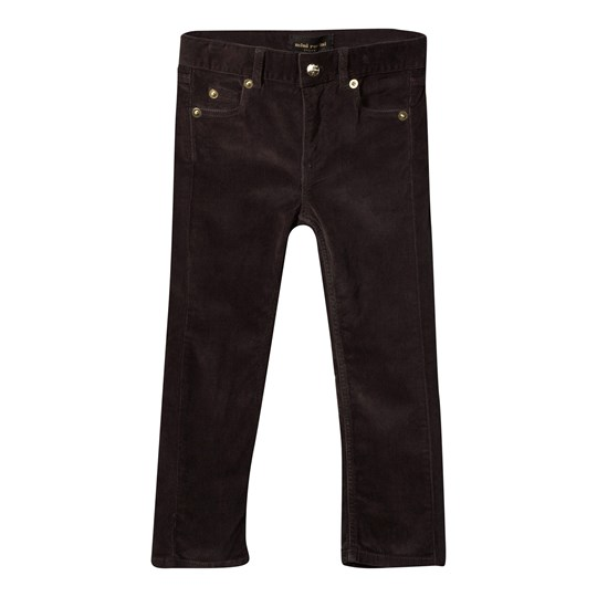Mini Rodini Corduroy Pants Tiger Fit Black Black