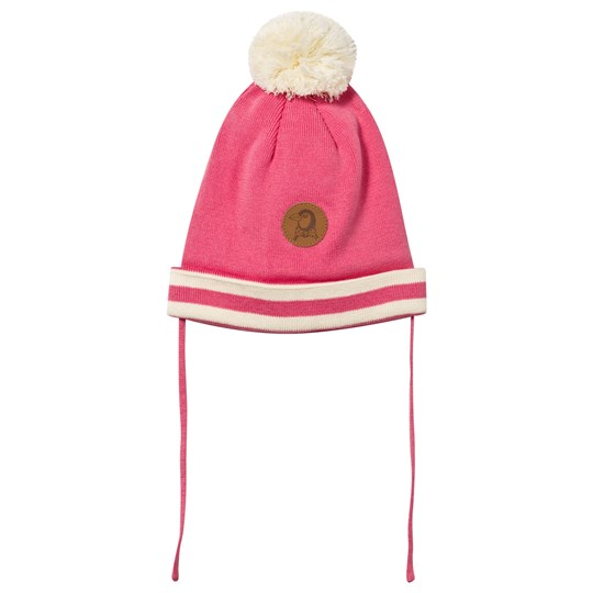 Mini Rodini Stripe Hat Pink Pink