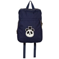 Mini Rodini Panda Backpack Dark Blue Dk Blue