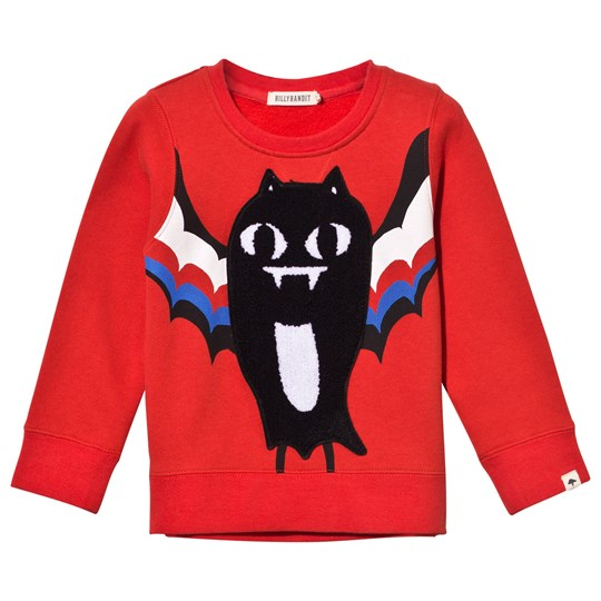 Billybandit Sweatshirt Bright Red Bright Red