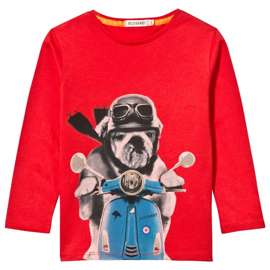 Billybandit T-shirt Klarröd Bright Red