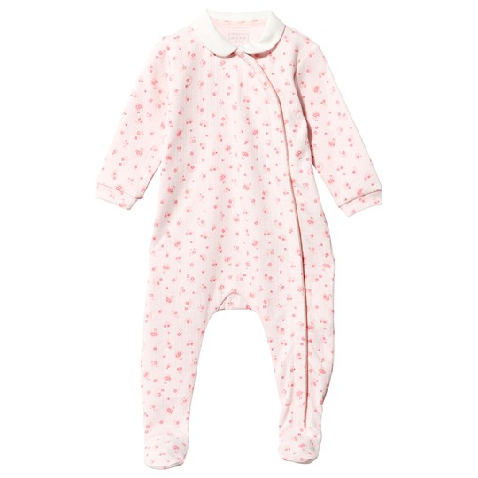 Carrément Beau Footed Baby Body Pink Pale Pink  Pale
