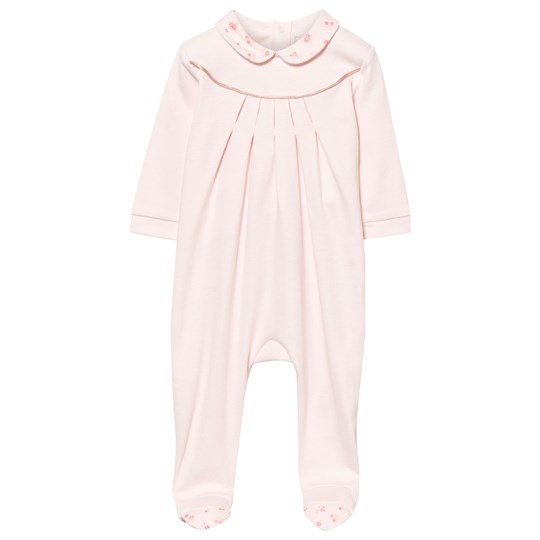Carrément Beau Footed Baby Body Pale Pink Pink  Pale