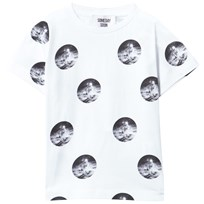 Someday Soon Parker T-shirt White AOP White AOP