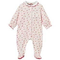 Petit Bateau Footed Baby Body Sissi/Multicolor