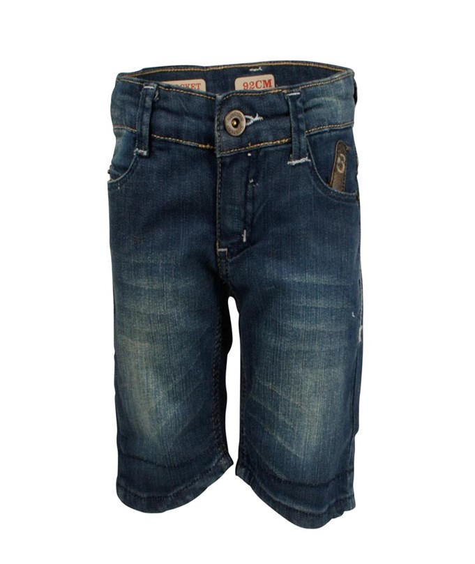 Shorts 6-pocket Indigo
