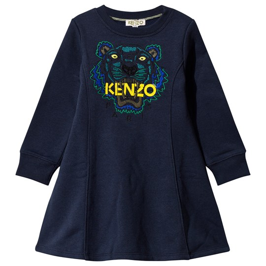 Kenzo Alisee Dress Midnight Blue Midnight Blue