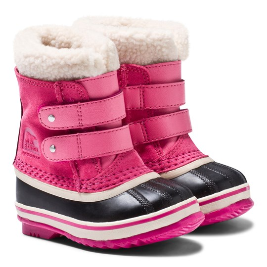 Sorel Toddler 1964 Pac™ Strap Boots Tropic Pink Tropic Pink