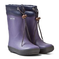 Mini A Ture Jeffy Wellies Cameo Blue Purple Heart