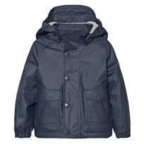Mini A Ture Julien Lined Rain Jacket Ombre Blue ombre blue
